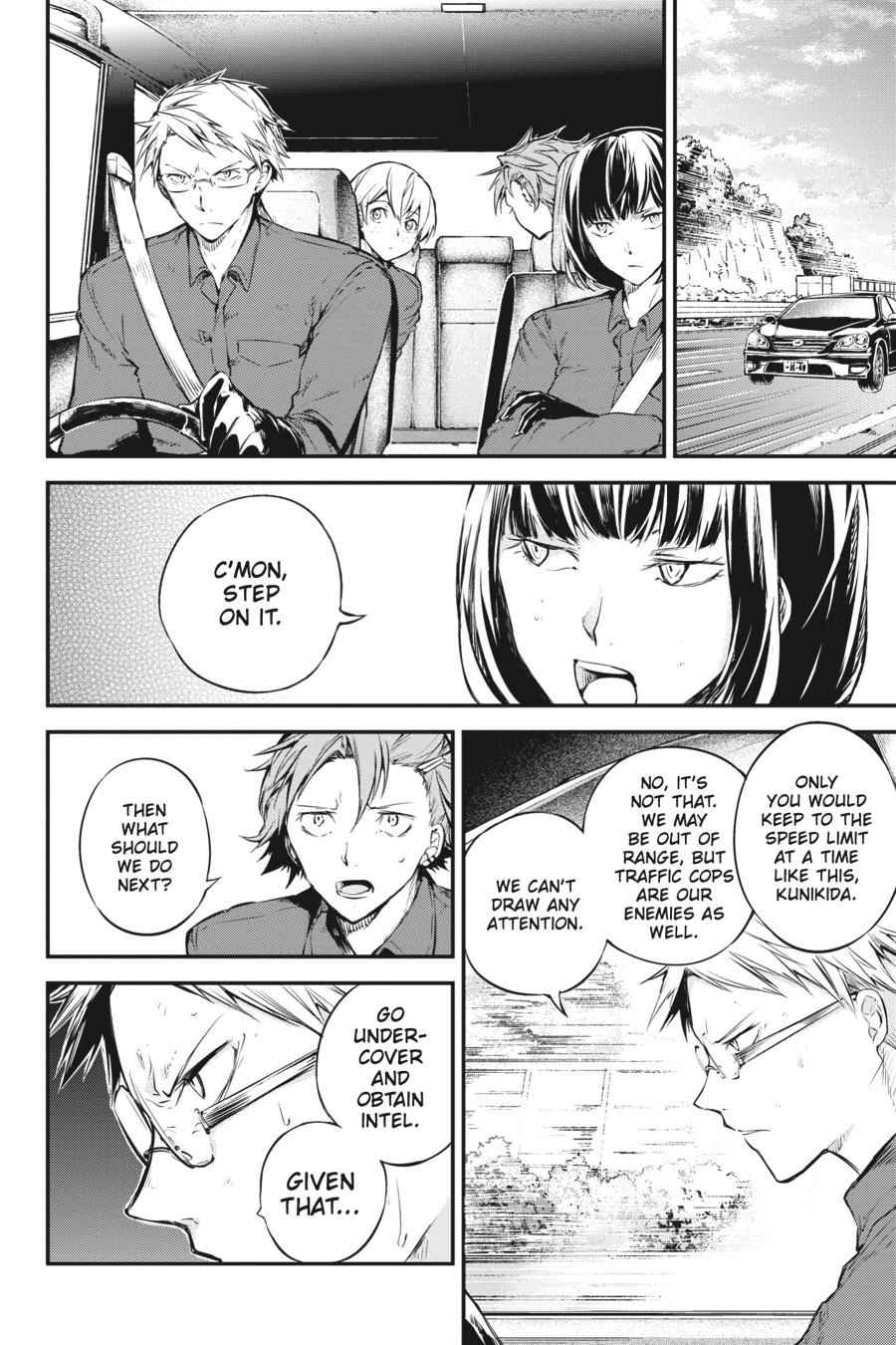Bungou Stray Dogs Chapter 61 Page 13