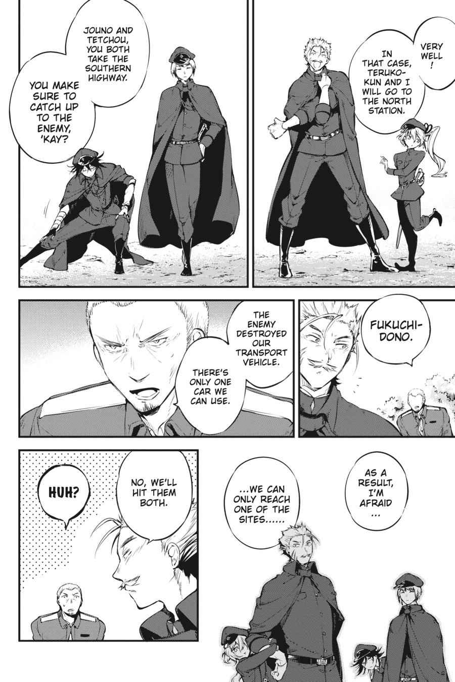 Bungou Stray Dogs Chapter 61 Page 2