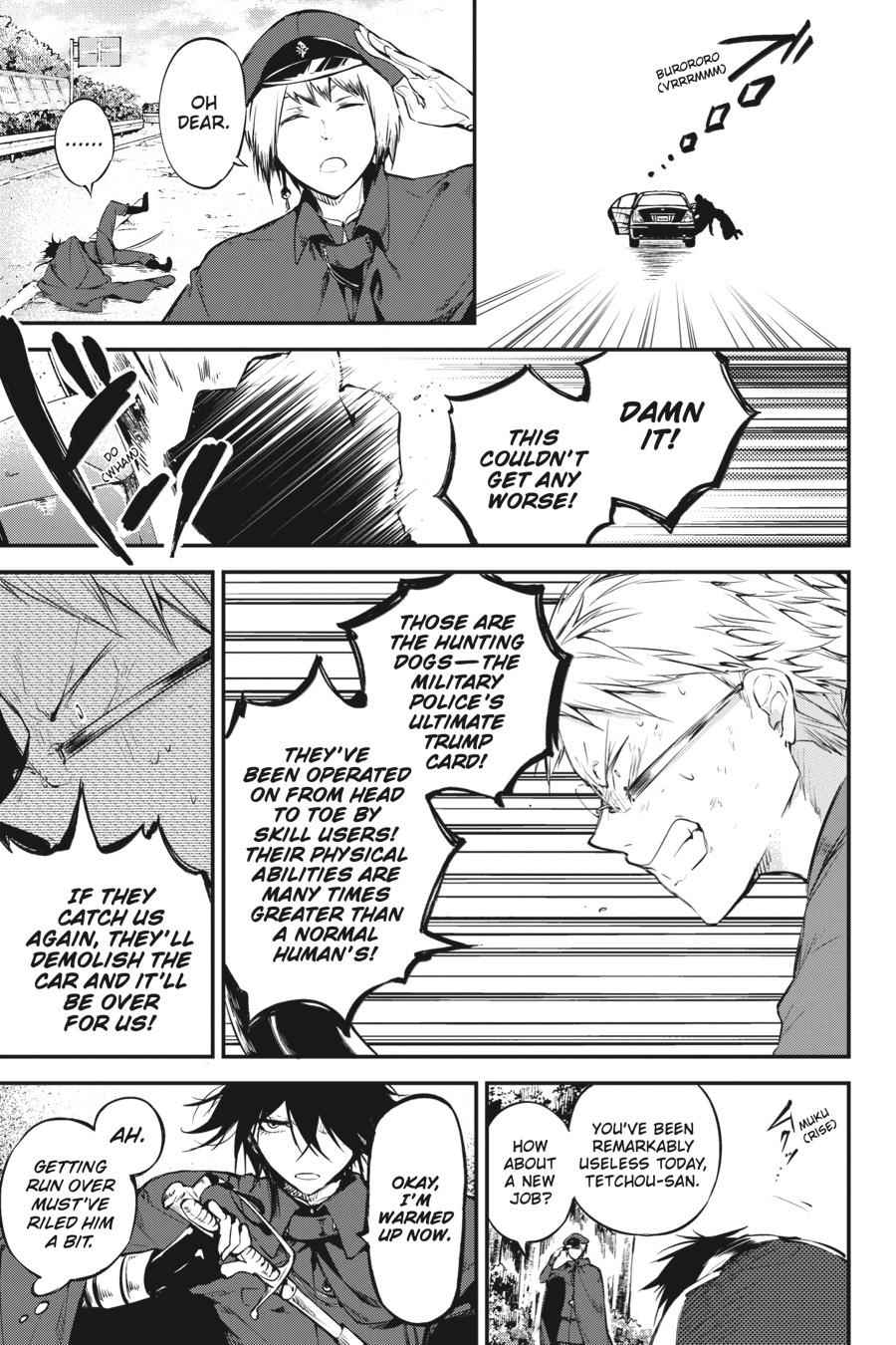 Bungou Stray Dogs Chapter 61 Page 29