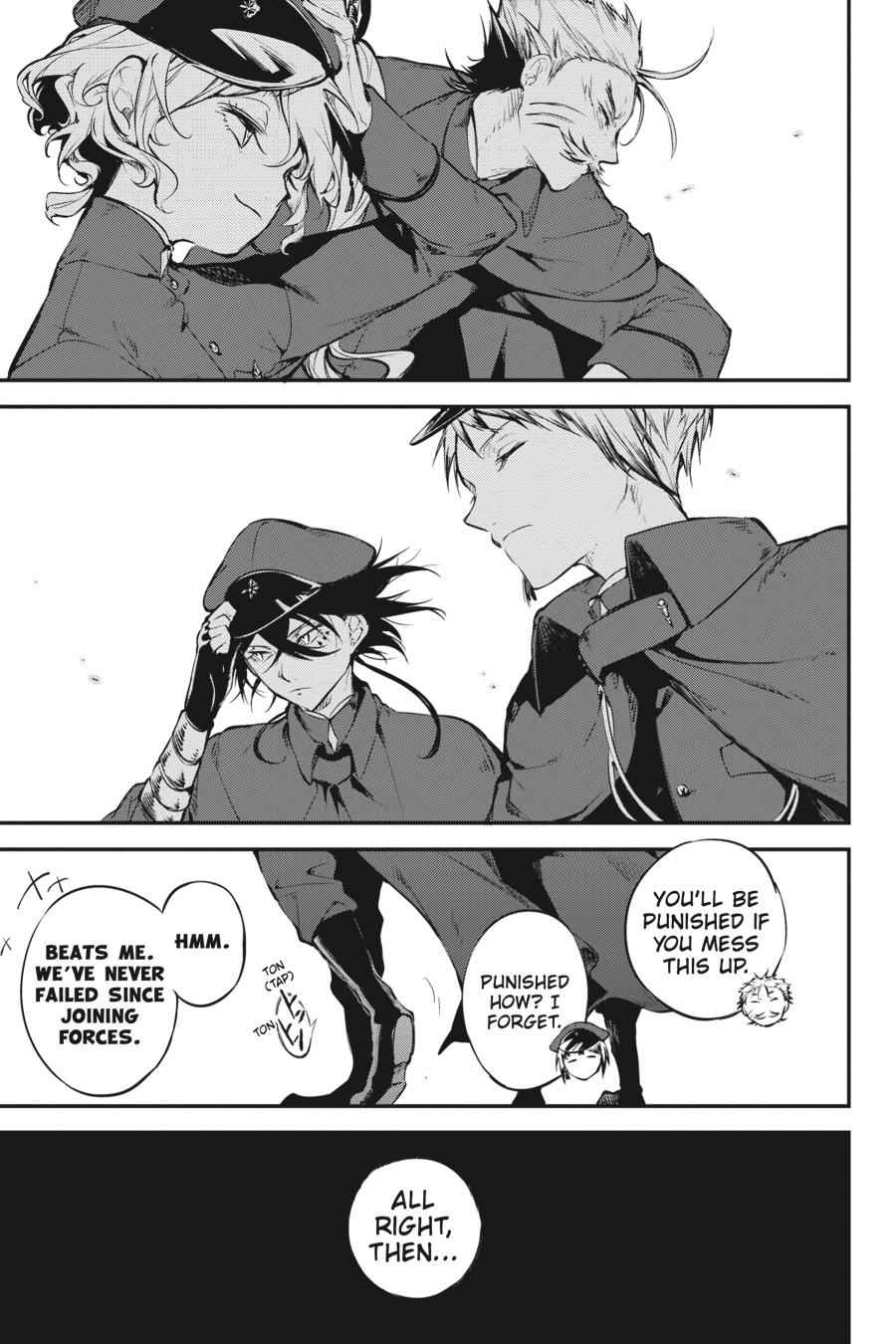 Bungou Stray Dogs Chapter 61 Page 3