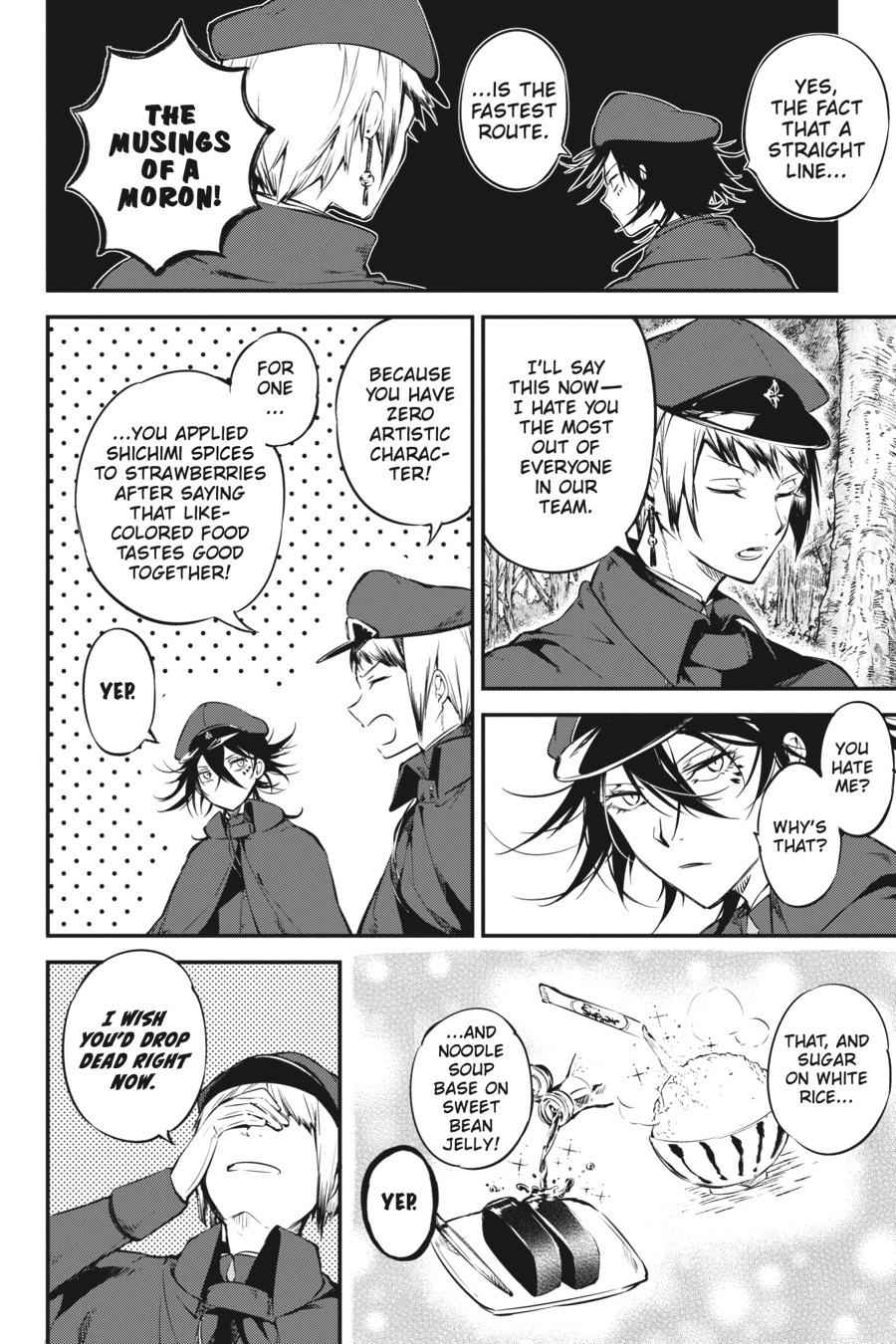Bungou Stray Dogs Chapter 61 Page 9
