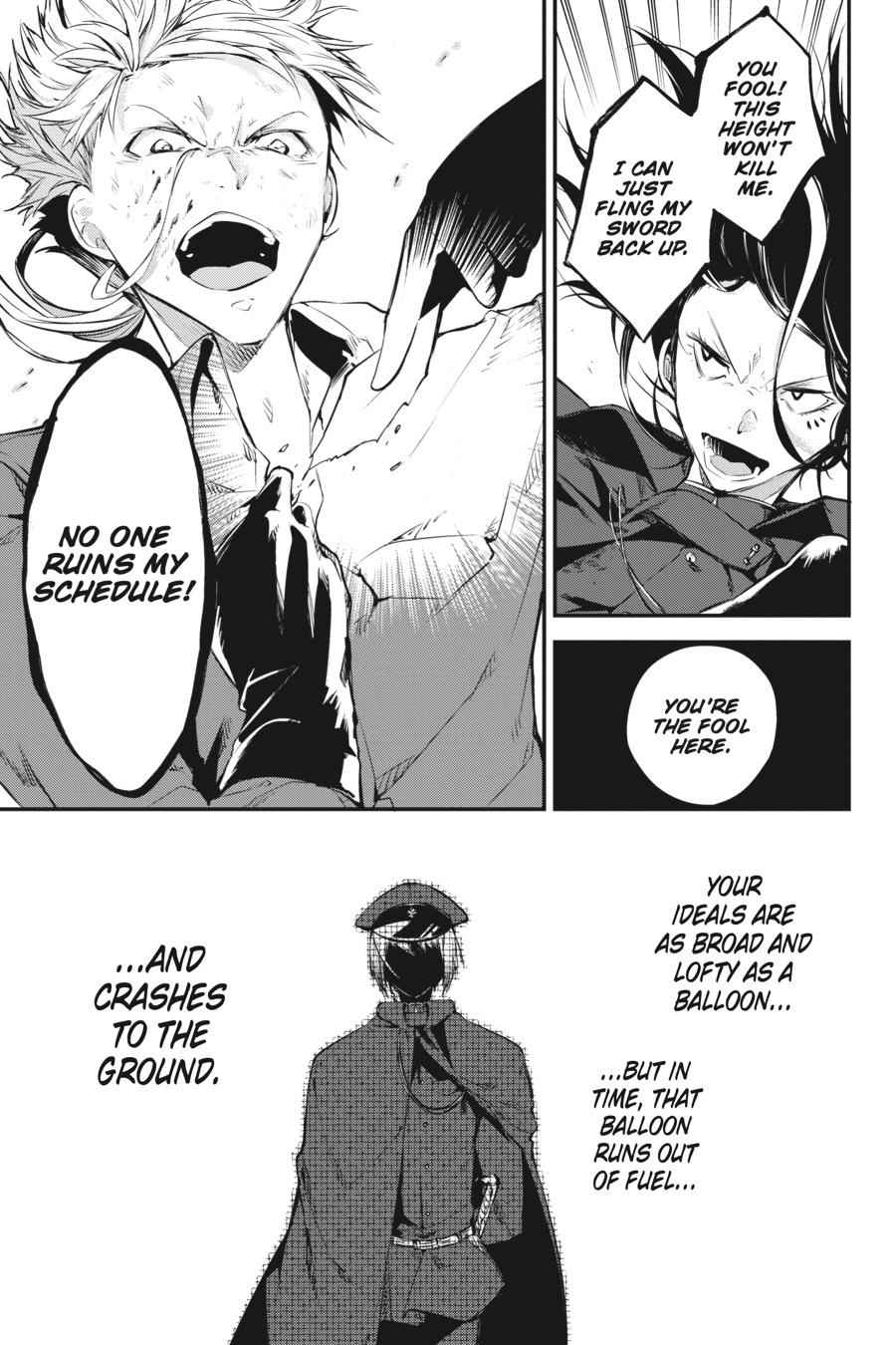 Bungou Stray Dogs Chapter 62 Page 30