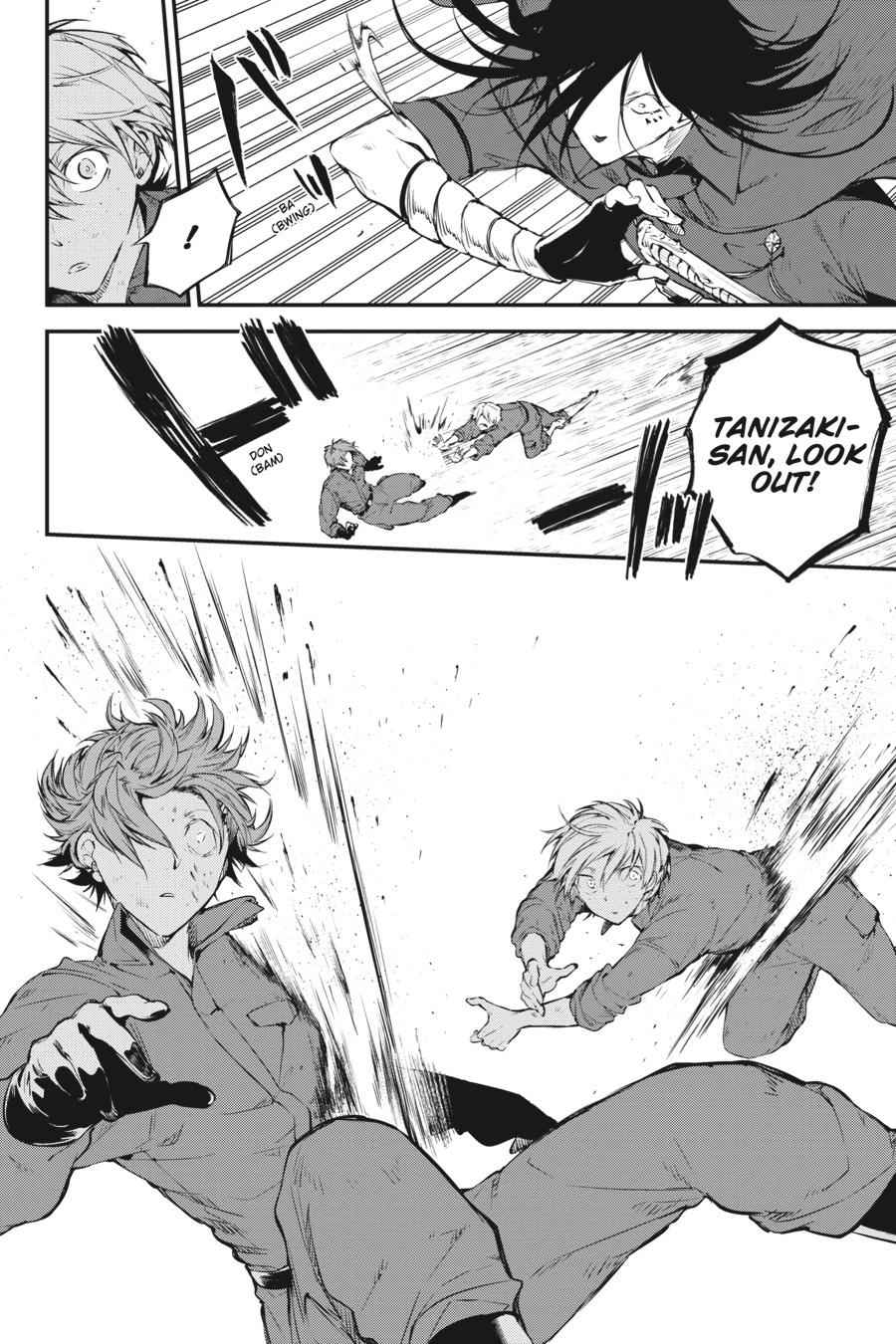 Bungou Stray Dogs Chapter 62 Page 4