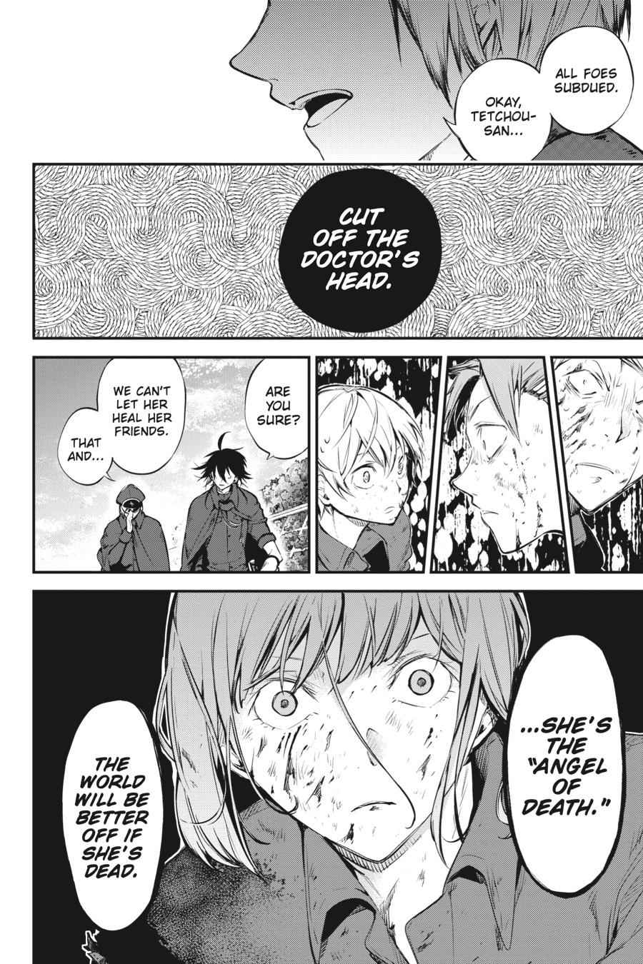 Bungou Stray Dogs Chapter 62 Page 8