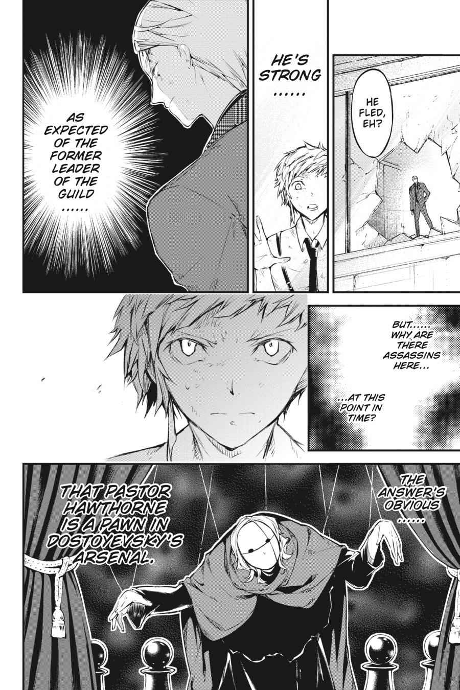 Bungou Stray Dogs Chapter 63 Page 23