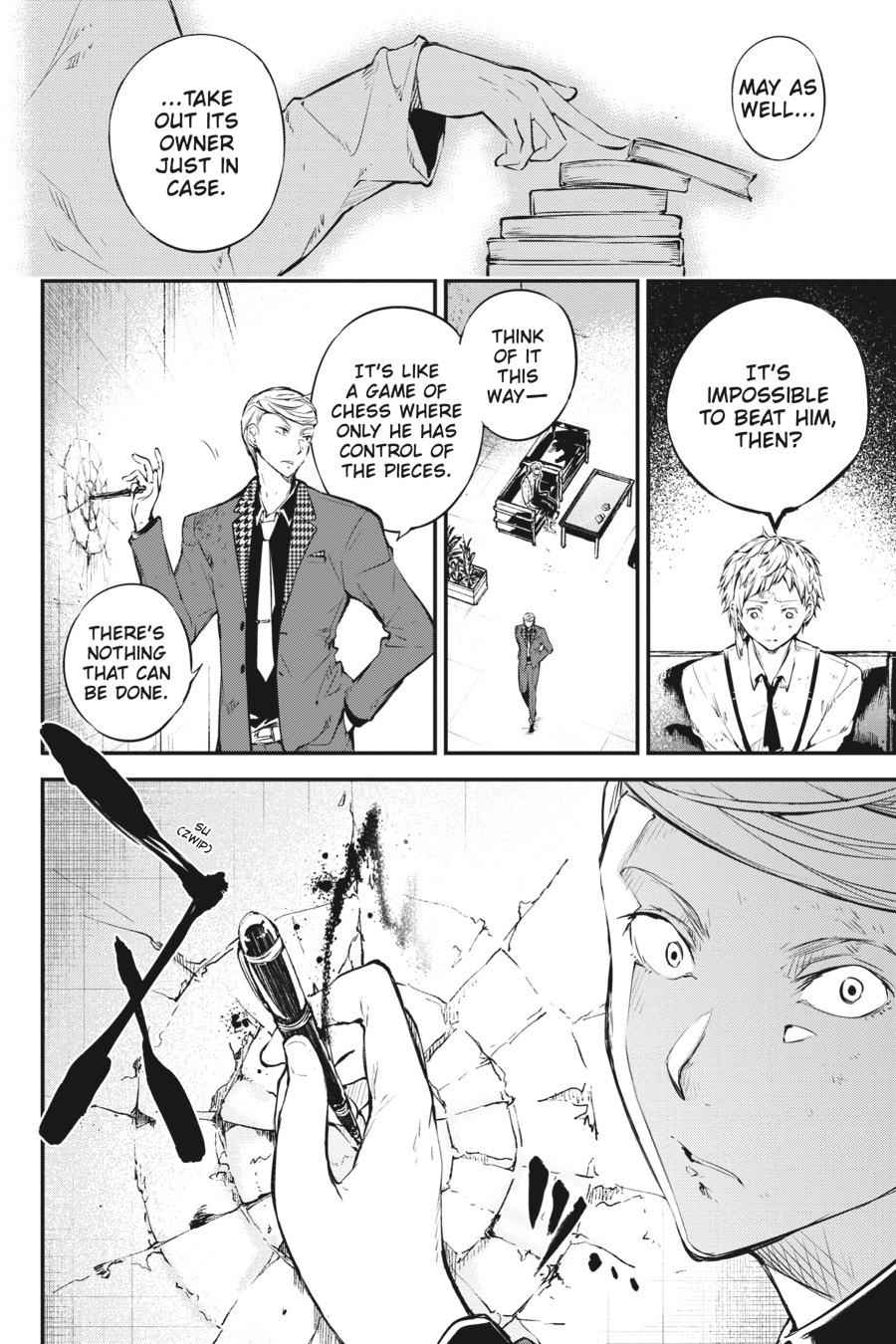 Bungou Stray Dogs Chapter 63 Page 29