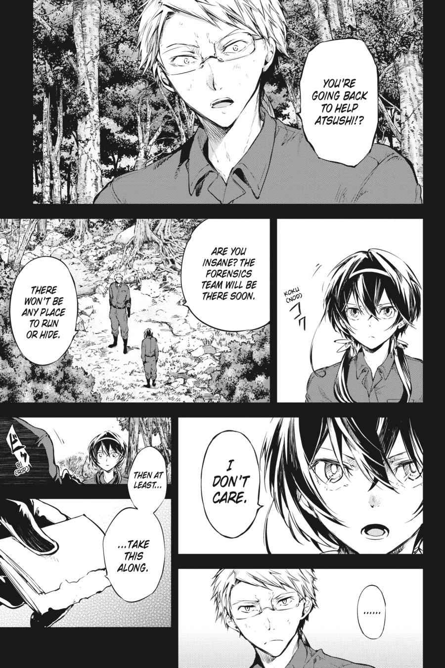 Bungou Stray Dogs Chapter 63 Page 3