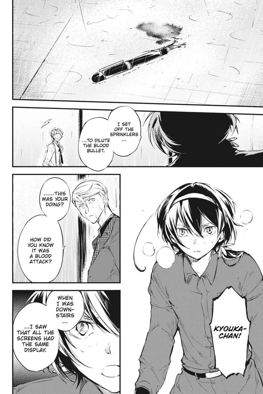 Bungou Stray Dogs Chapter 63 Page 33