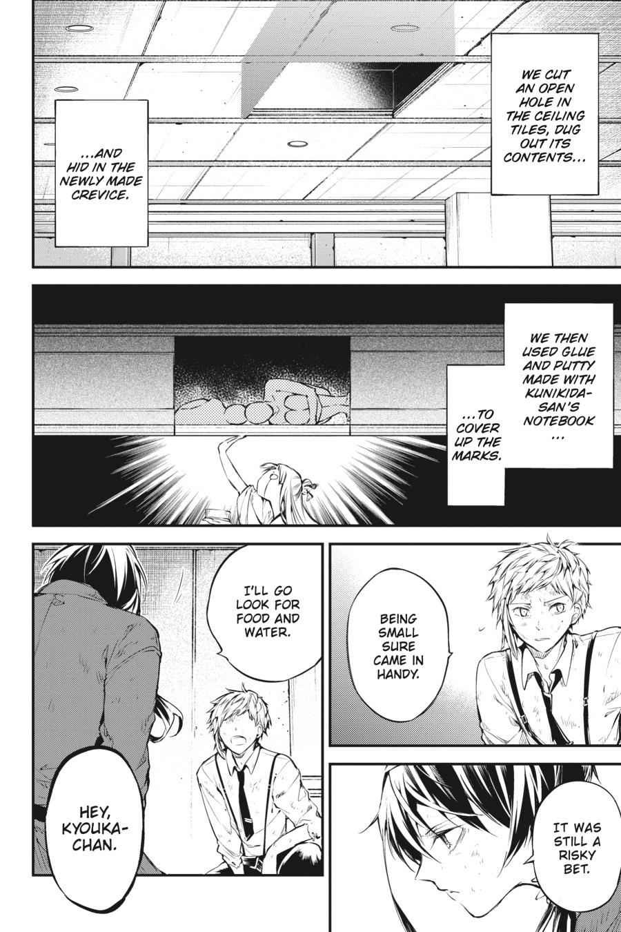 Bungou Stray Dogs Chapter 63 Page 4