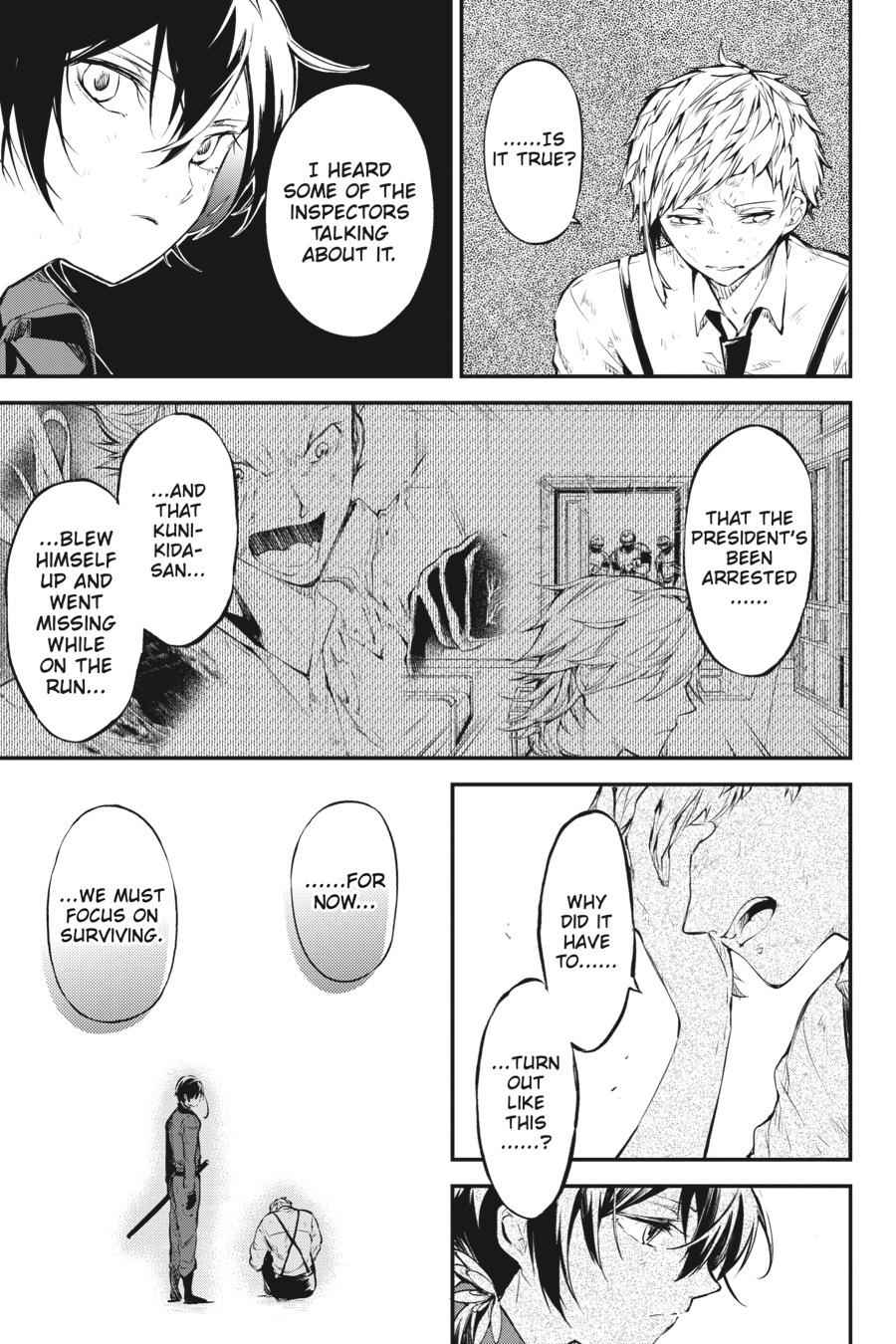 Bungou Stray Dogs Chapter 63 Page 5