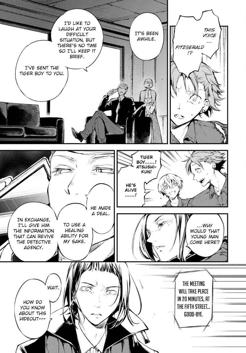 Bungou Stray Dogs Chapter 65 Page 10