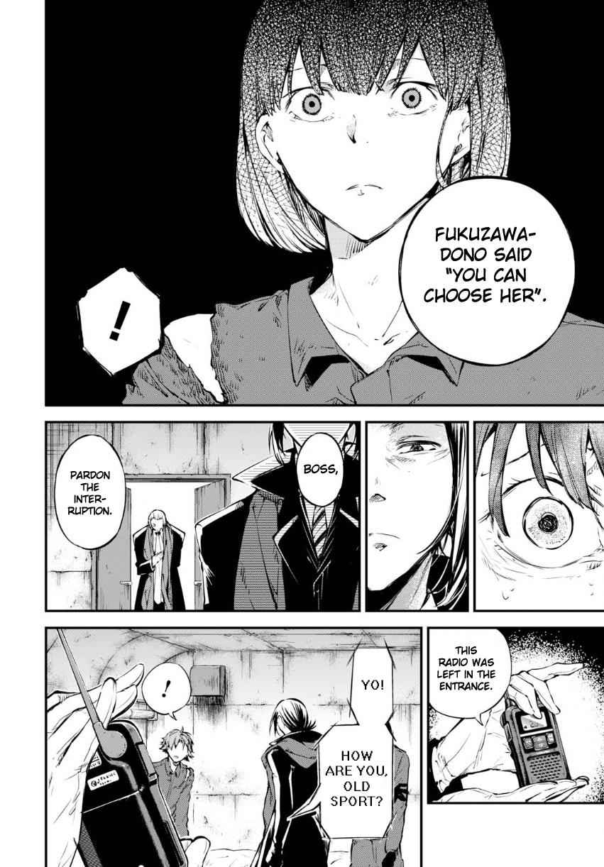 Bungou Stray Dogs Chapter 65 Page 9