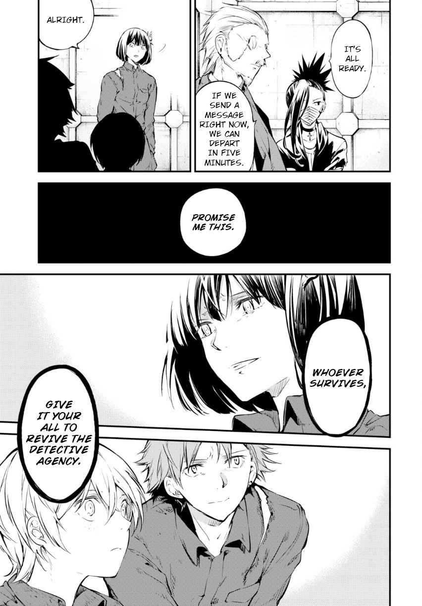 Bungou Stray Dogs Chapter 67 Page 20