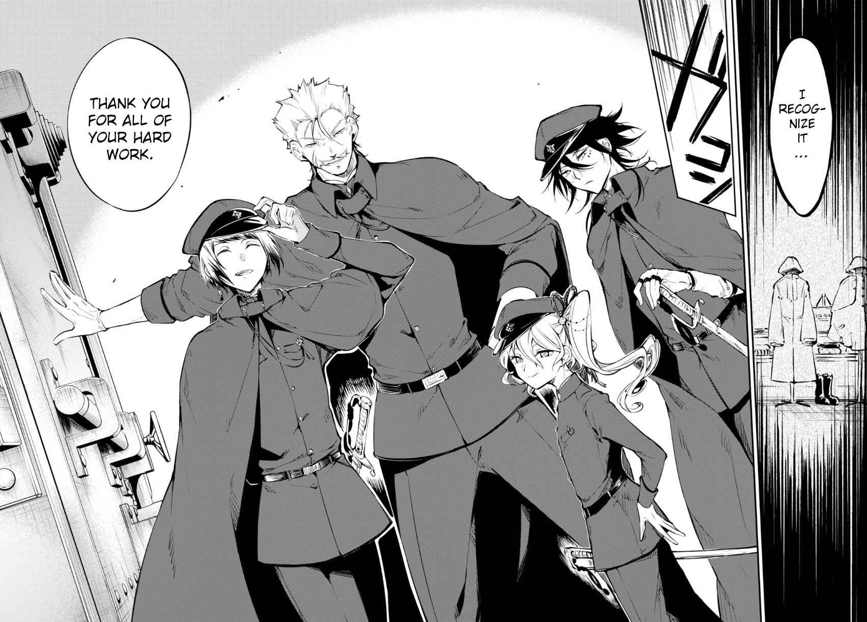 Bungou Stray Dogs Chapter 68 Page 27