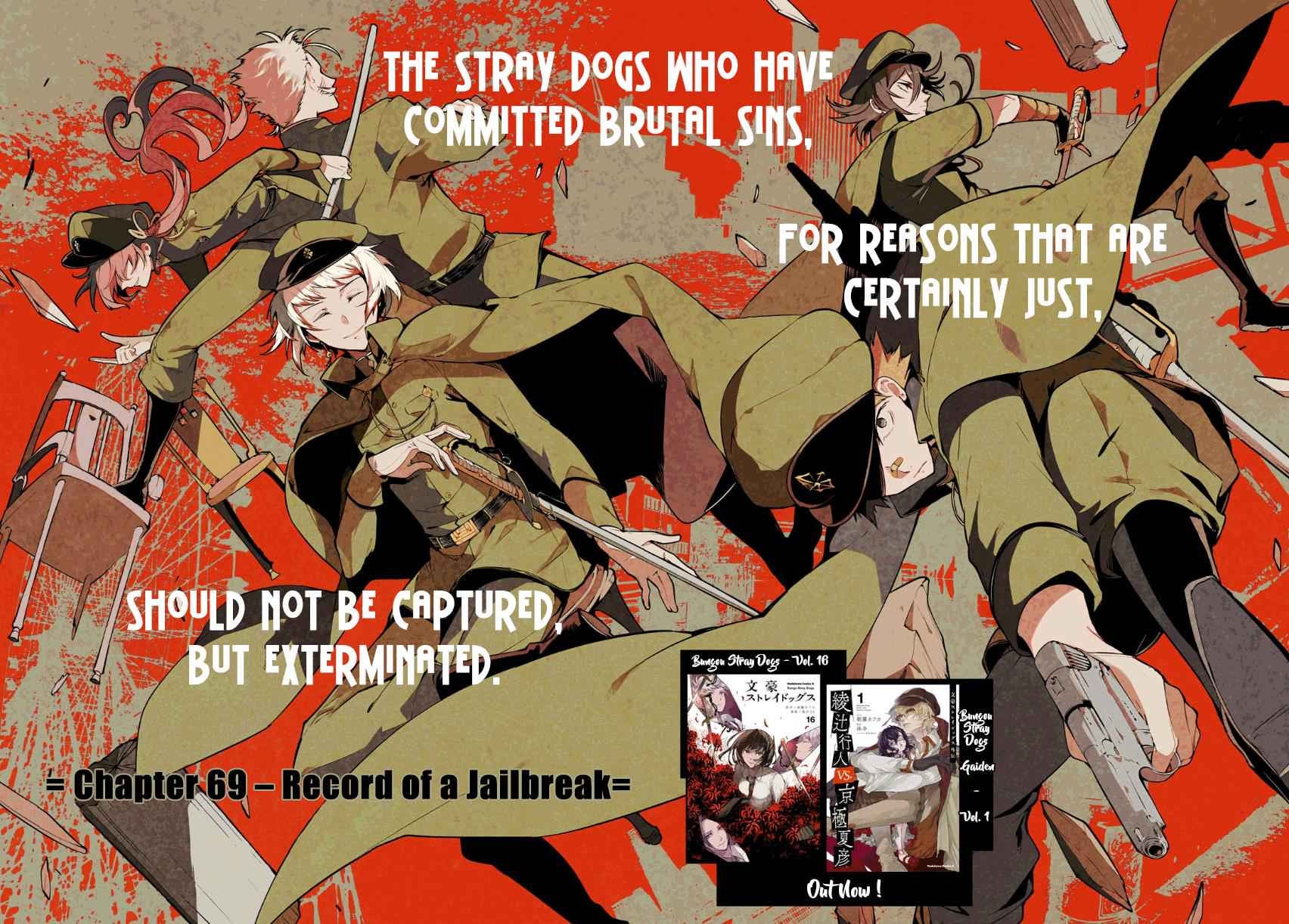Bungou Stray Dogs Chapter 69 Page 3