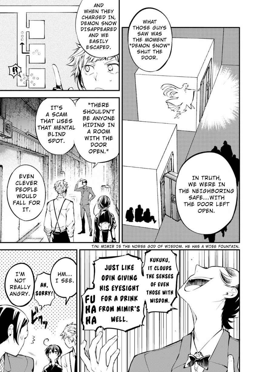 Bungou Stray Dogs Chapter 70 Page 6