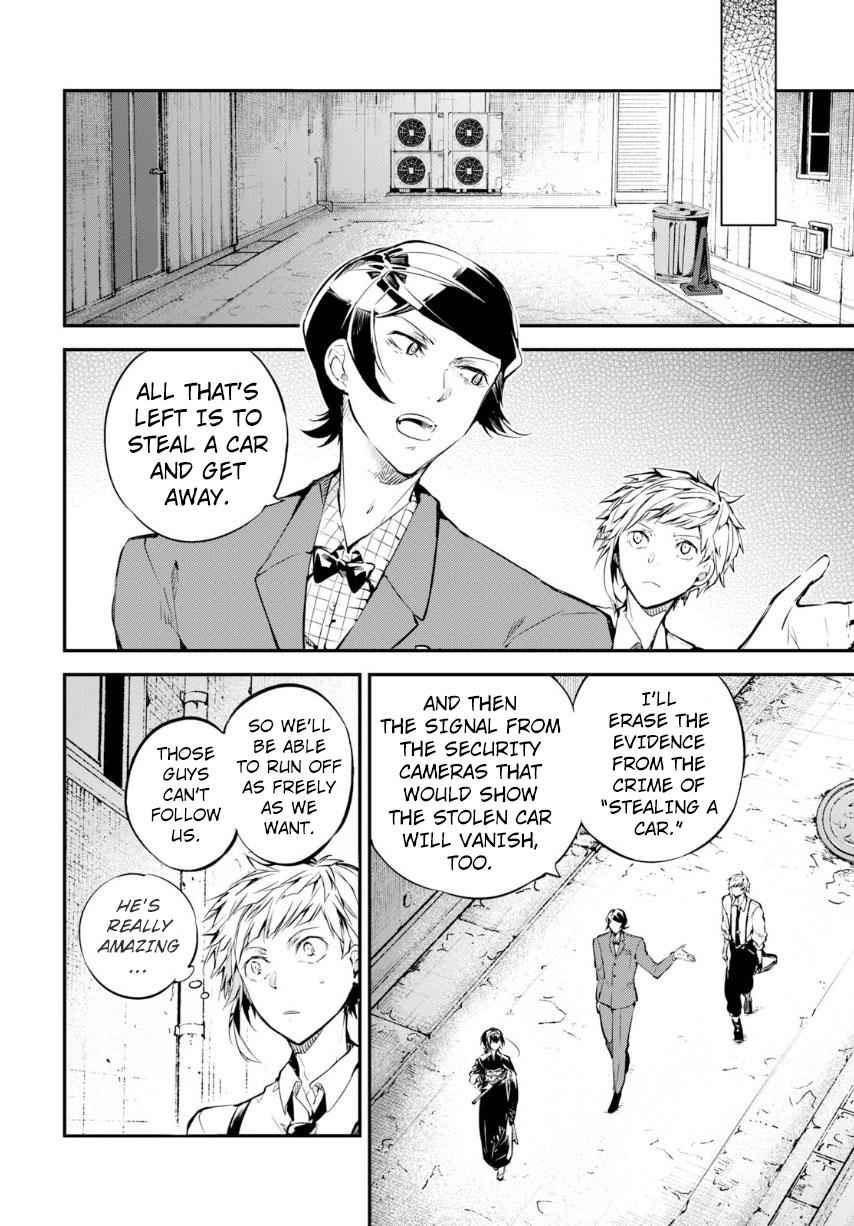 Bungou Stray Dogs Chapter 70 Page 9