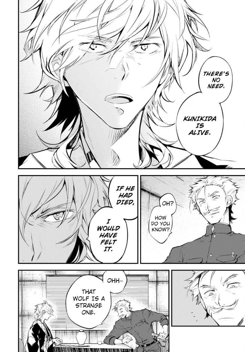 Bungou Stray Dogs Chapter 71 Page 28