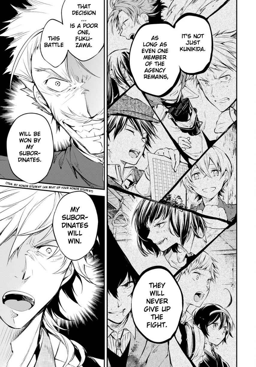 Bungou Stray Dogs Chapter 71 Page 29