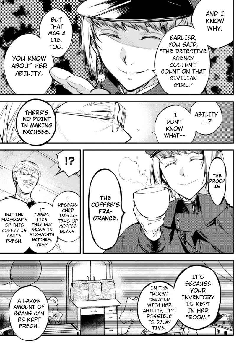 Bungou Stray Dogs Chapter 72 Page 4