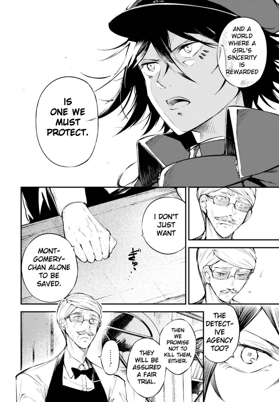 Bungou Stray Dogs Chapter 72 Page 9