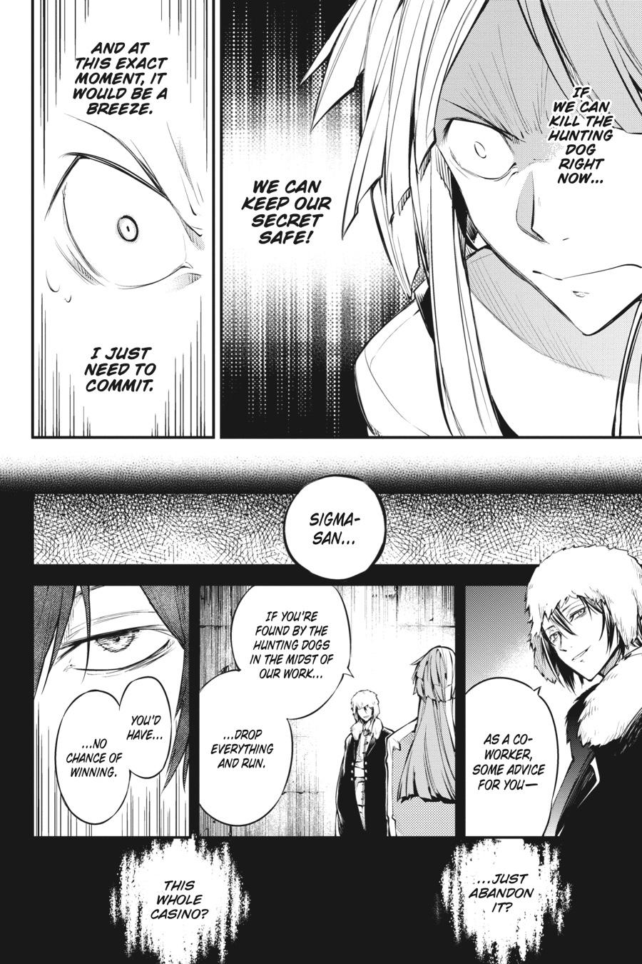 Bungou Stray Dogs Chapter 73 Page 20