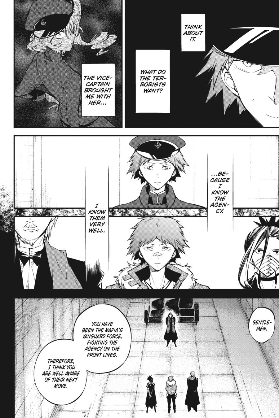 Bungou Stray Dogs Chapter 73 Page 6
