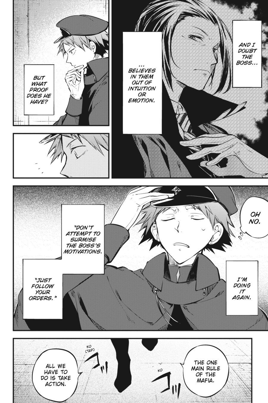 Bungou Stray Dogs Chapter 73 Page 8
