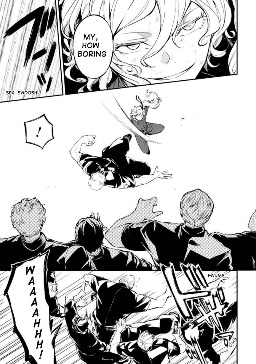 Bungou Stray Dogs Chapter 74.5 Page 8