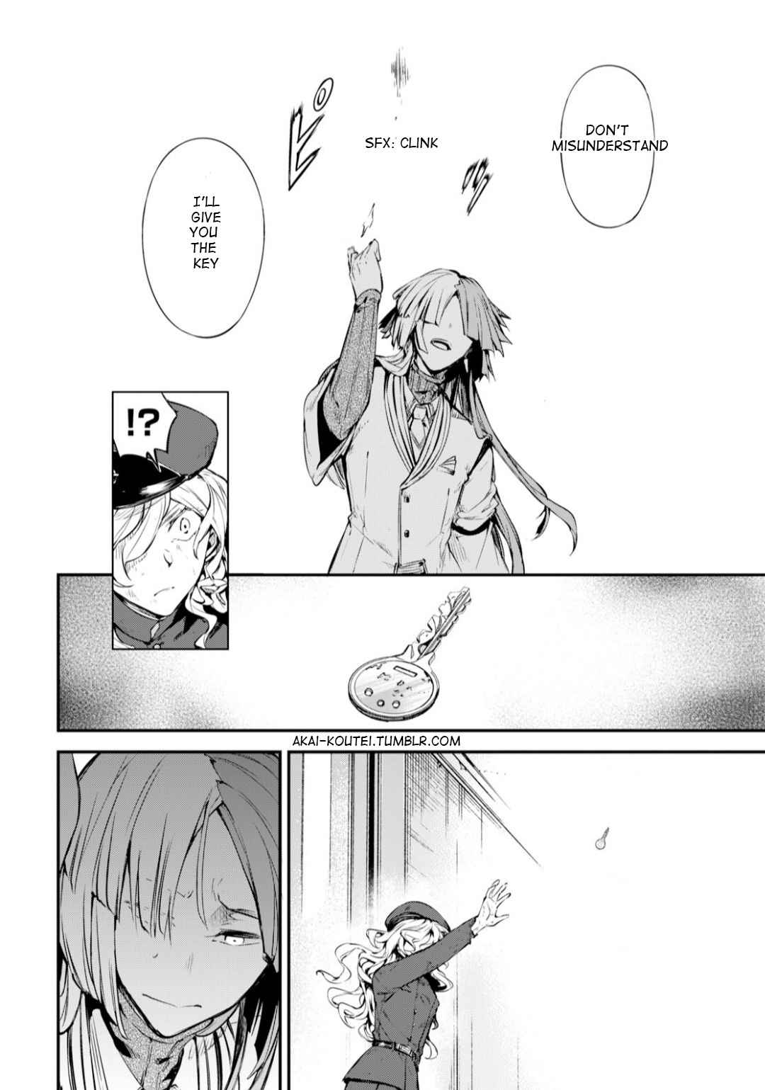 Bungou Stray Dogs Chapter 75 Page 28