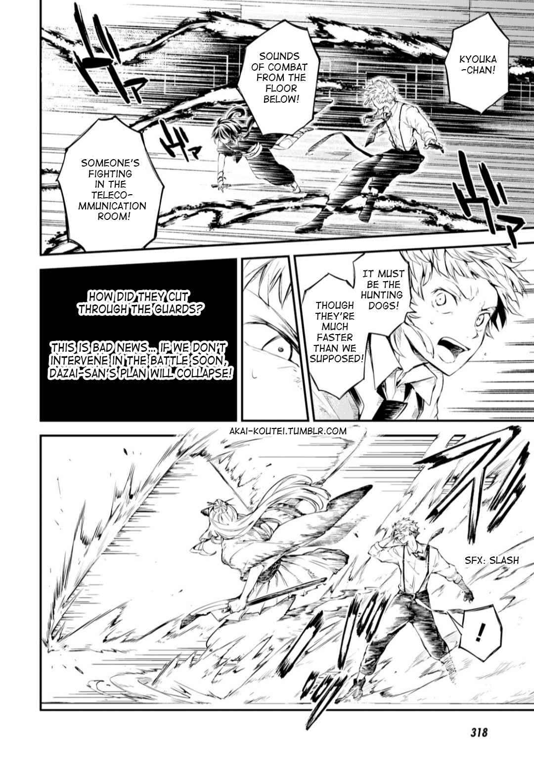 Bungou Stray Dogs Chapter 75 Page 32