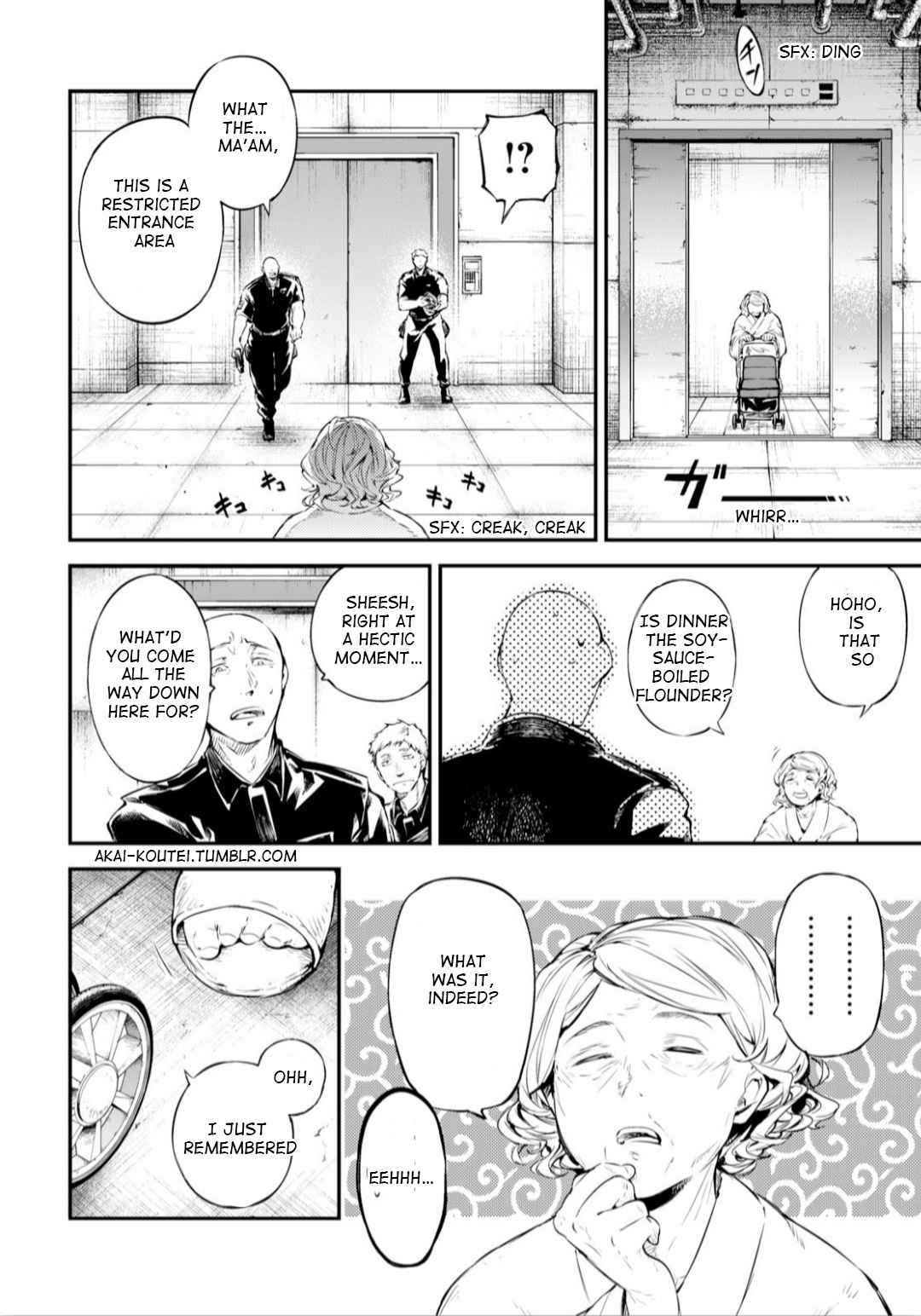 Bungou Stray Dogs Chapter 75 Page 9