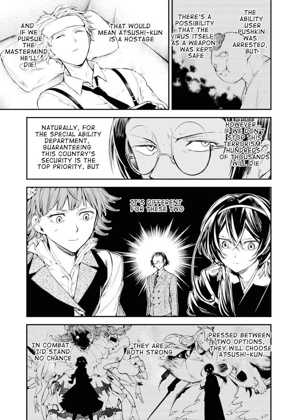 Bungou Stray Dogs Chapter 78 Page 21
