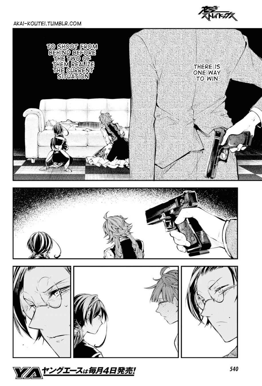 Bungou Stray Dogs Chapter 78 Page 22
