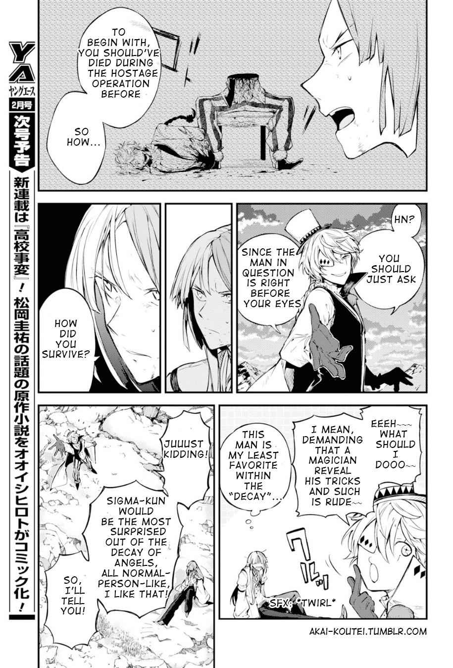 Bungou Stray Dogs Chapter 78 Page 27