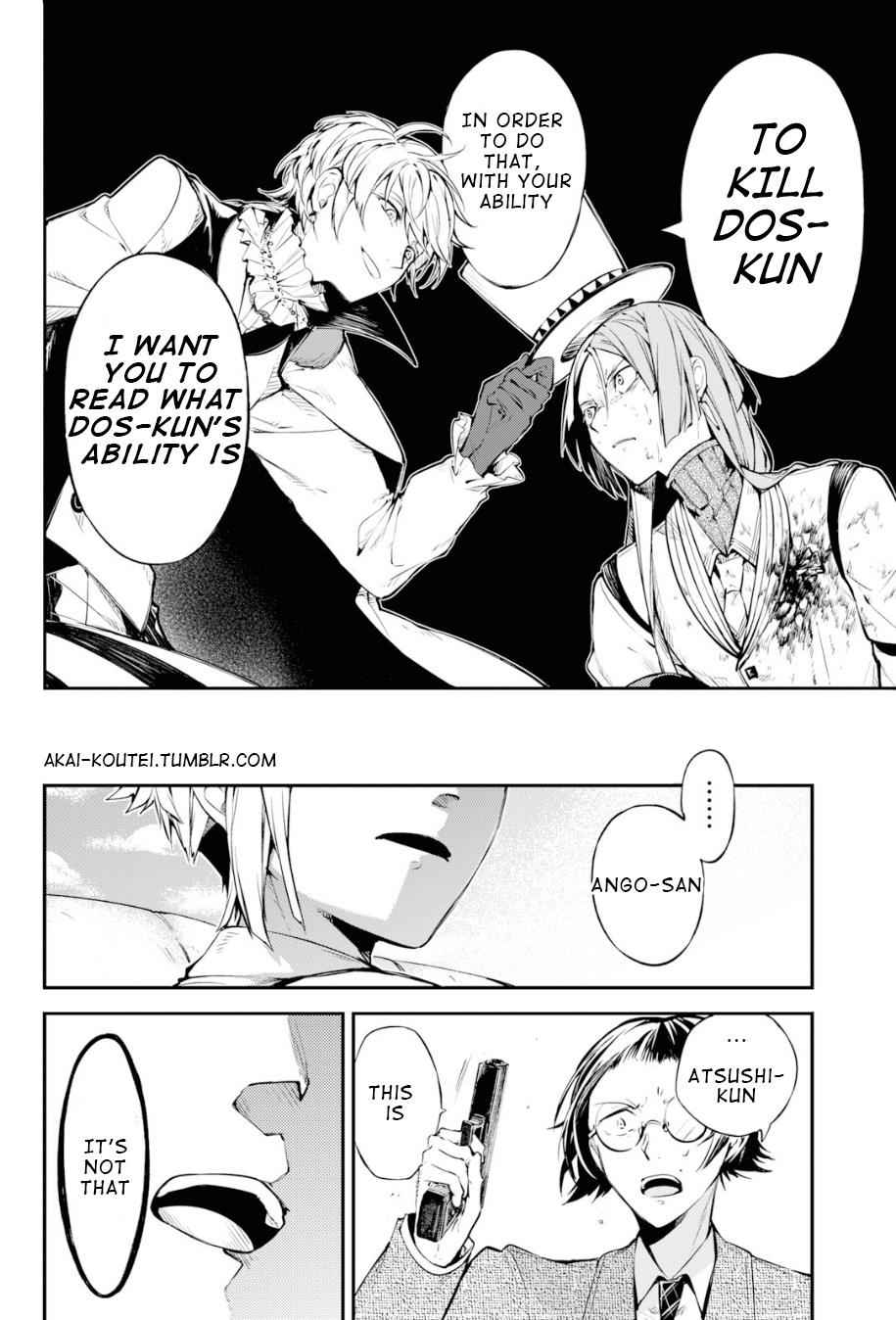 Bungou Stray Dogs Chapter 78 Page 32