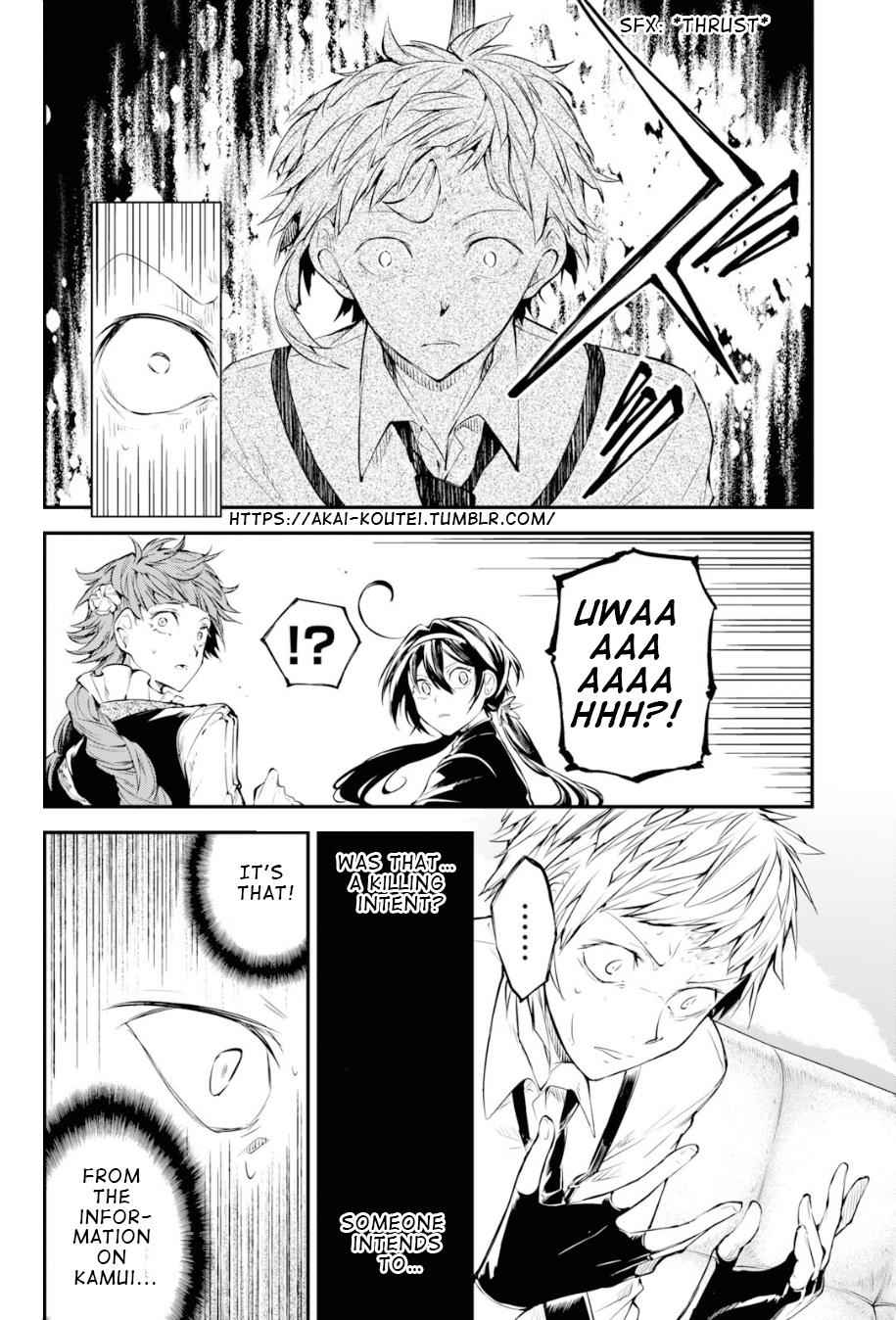 Bungou Stray Dogs Chapter 79 Page 15
