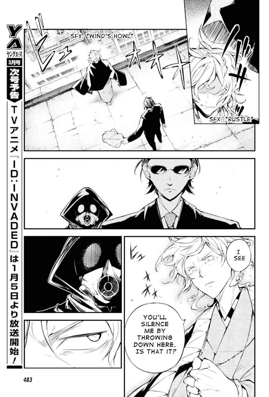 Bungou Stray Dogs Chapter 79 Page 28