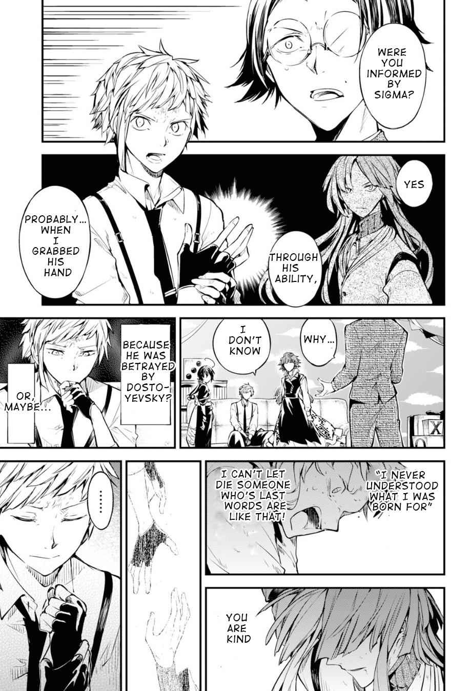 Bungou Stray Dogs Chapter 79 Page 4