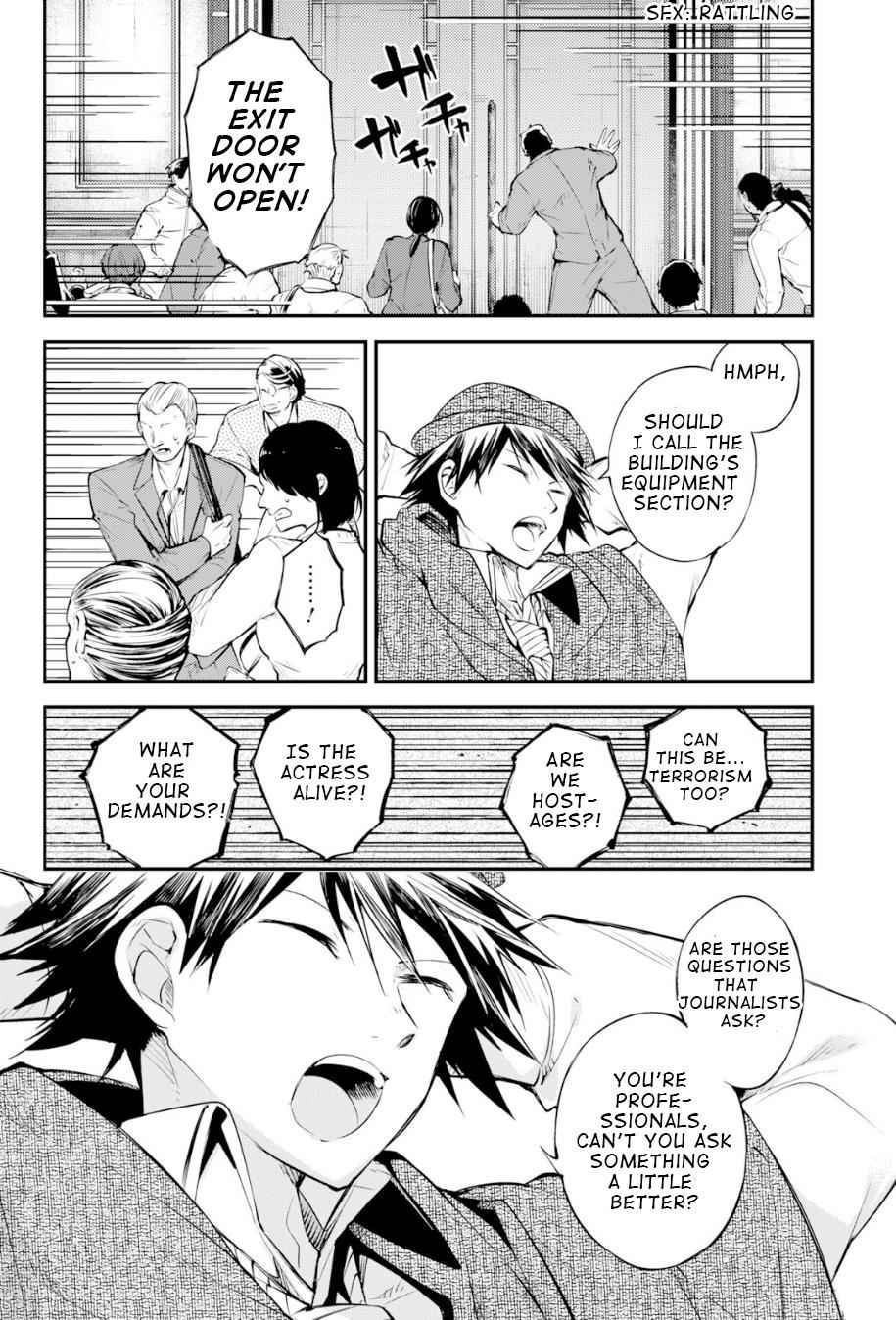 Bungou Stray Dogs Chapter 80 Page 24