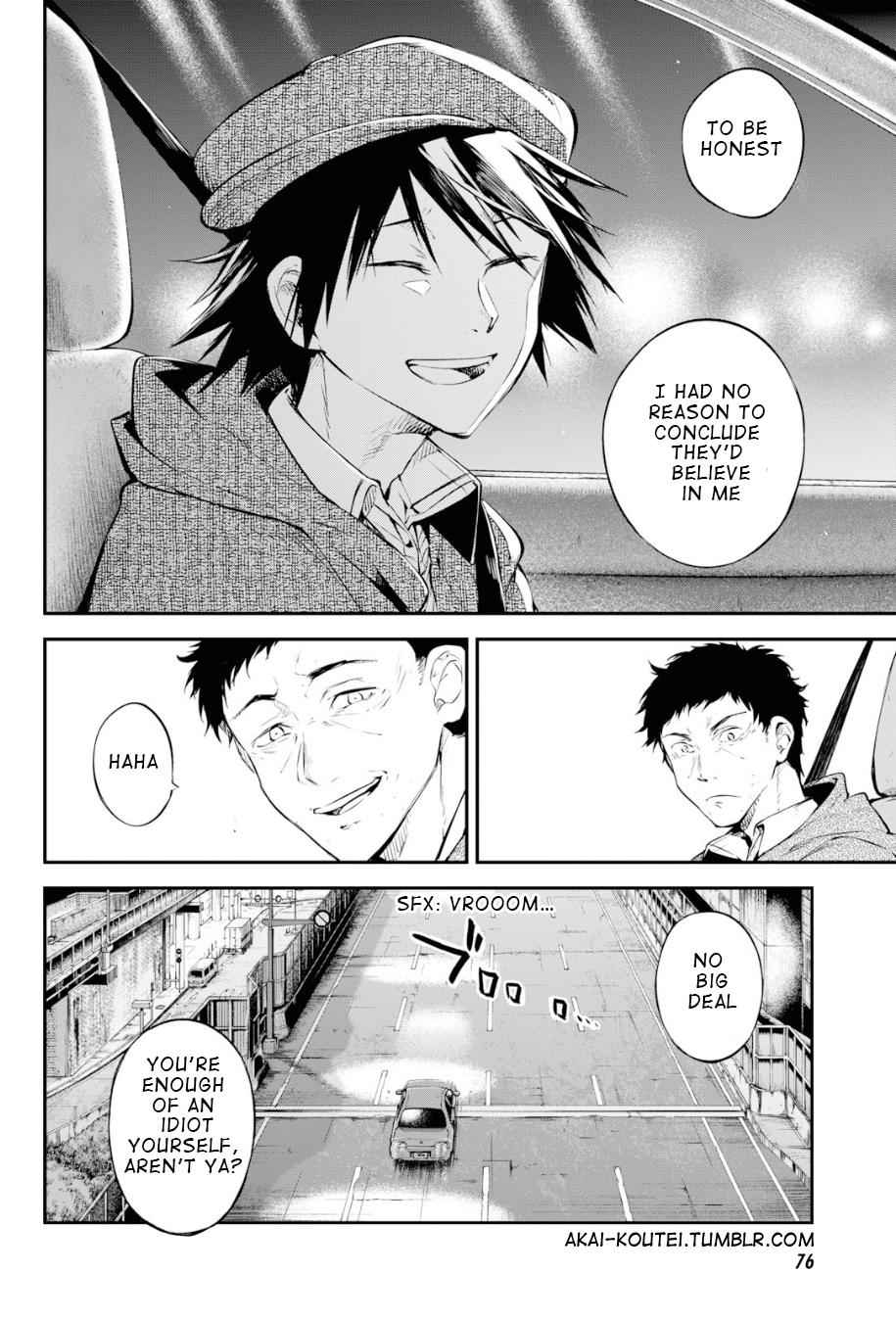 Bungou Stray Dogs Chapter 81 Page 14