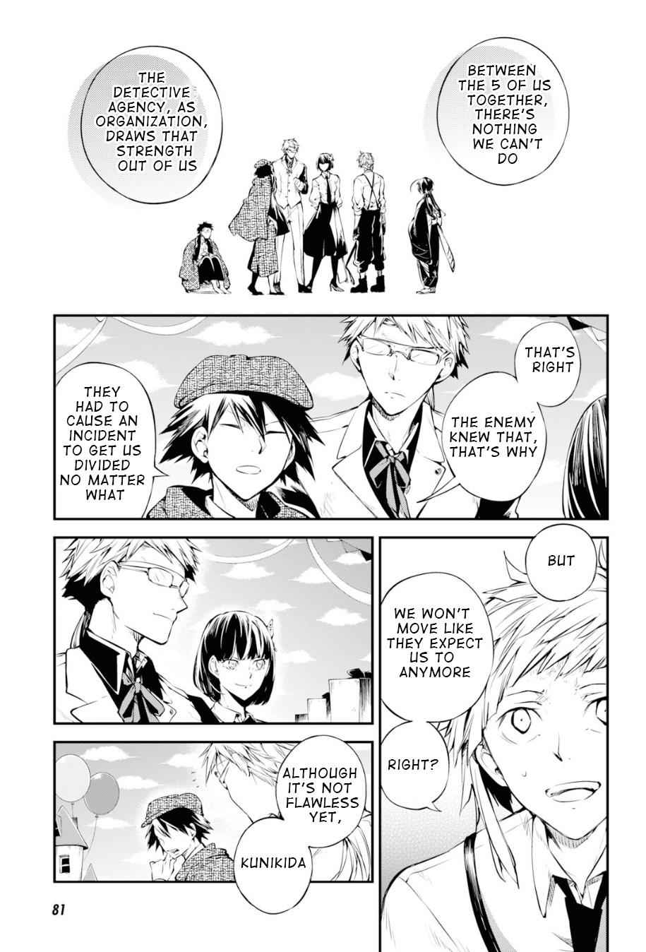 Bungou Stray Dogs Chapter 81 Page 19