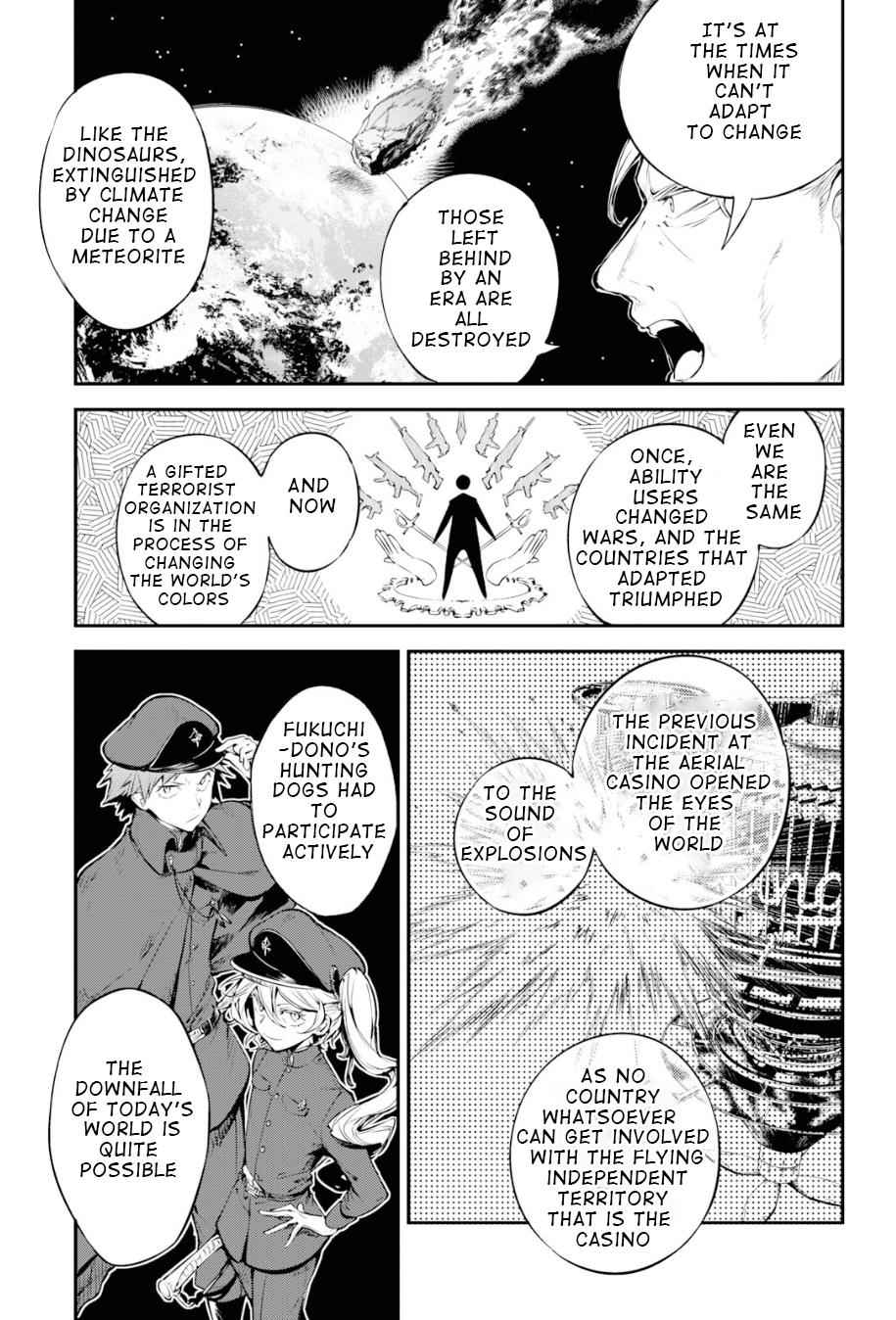 Bungou Stray Dogs Chapter 81 Page 29