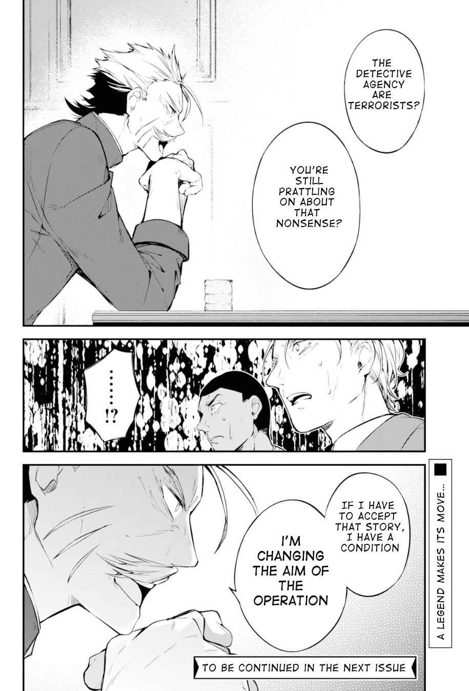 Bungou Stray Dogs Chapter 81 Page 34