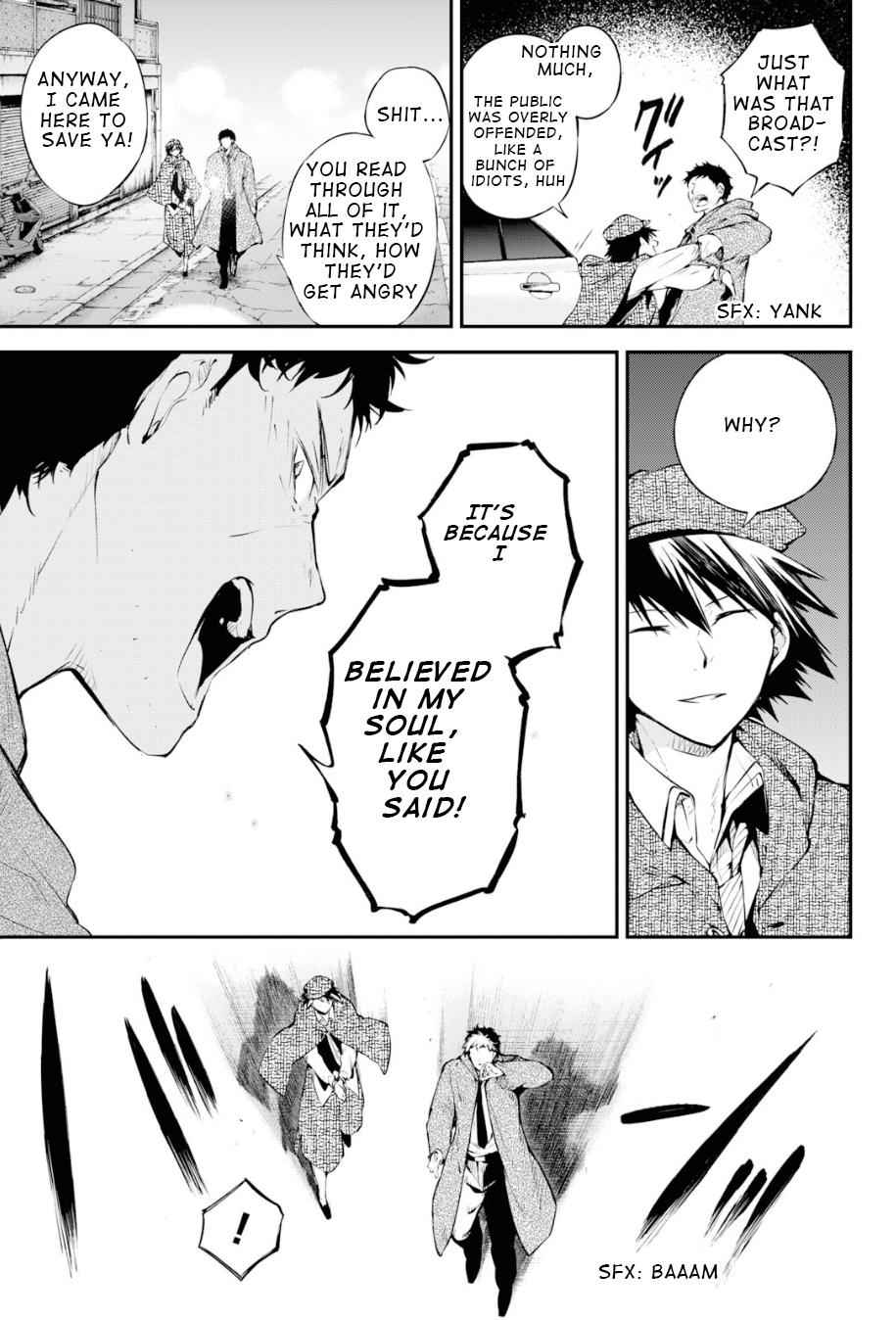 Bungou Stray Dogs Chapter 81 Page 5