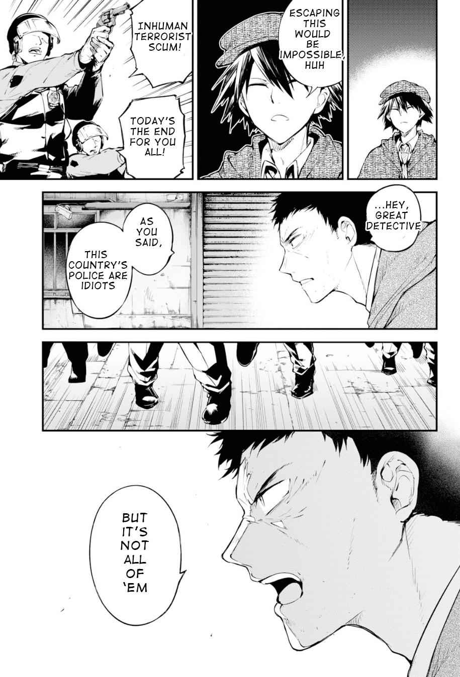 Bungou Stray Dogs Chapter 81 Page 7