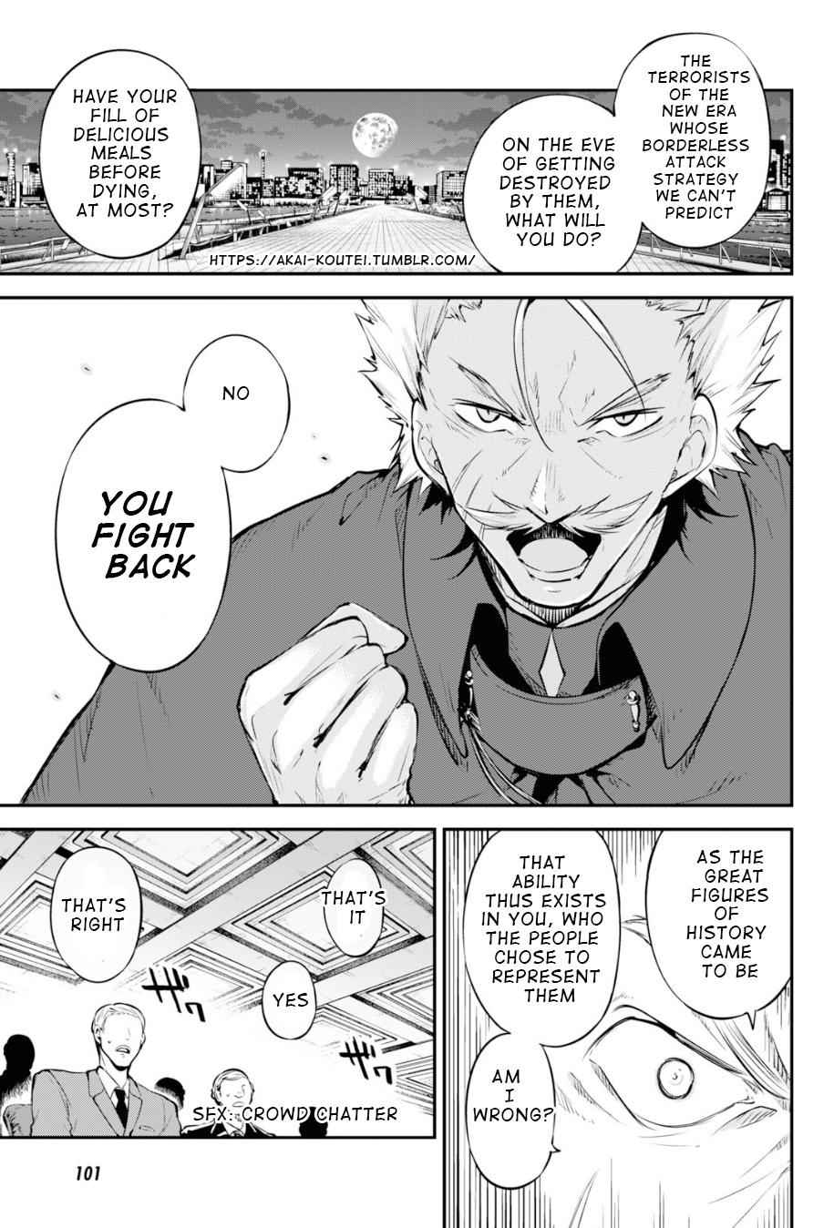 Bungou Stray Dogs Chapter 82 Page 14