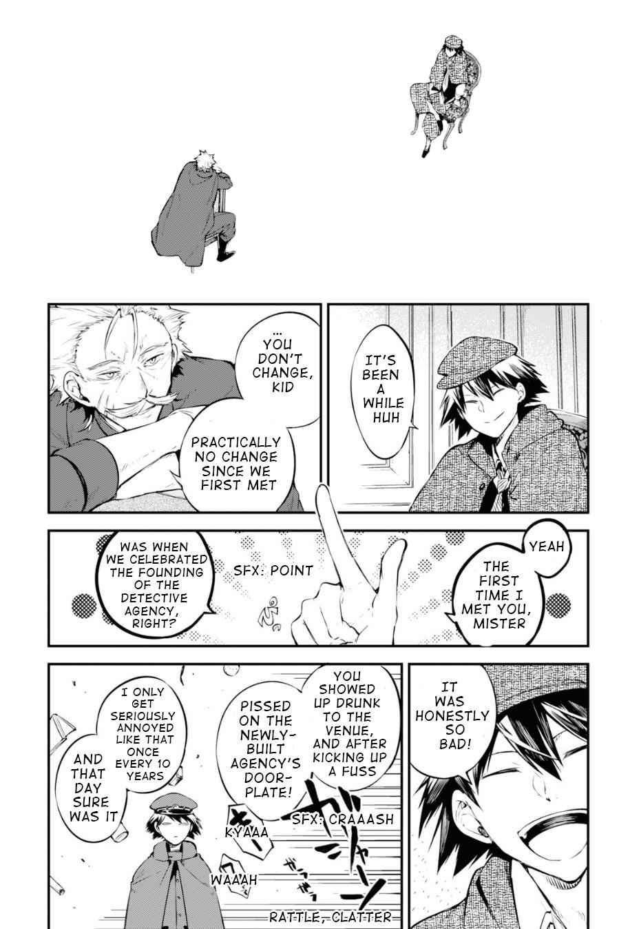 Bungou Stray Dogs Chapter 82 Page 21