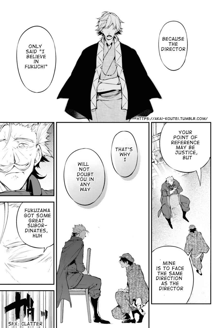 Bungou Stray Dogs Chapter 82 Page 26