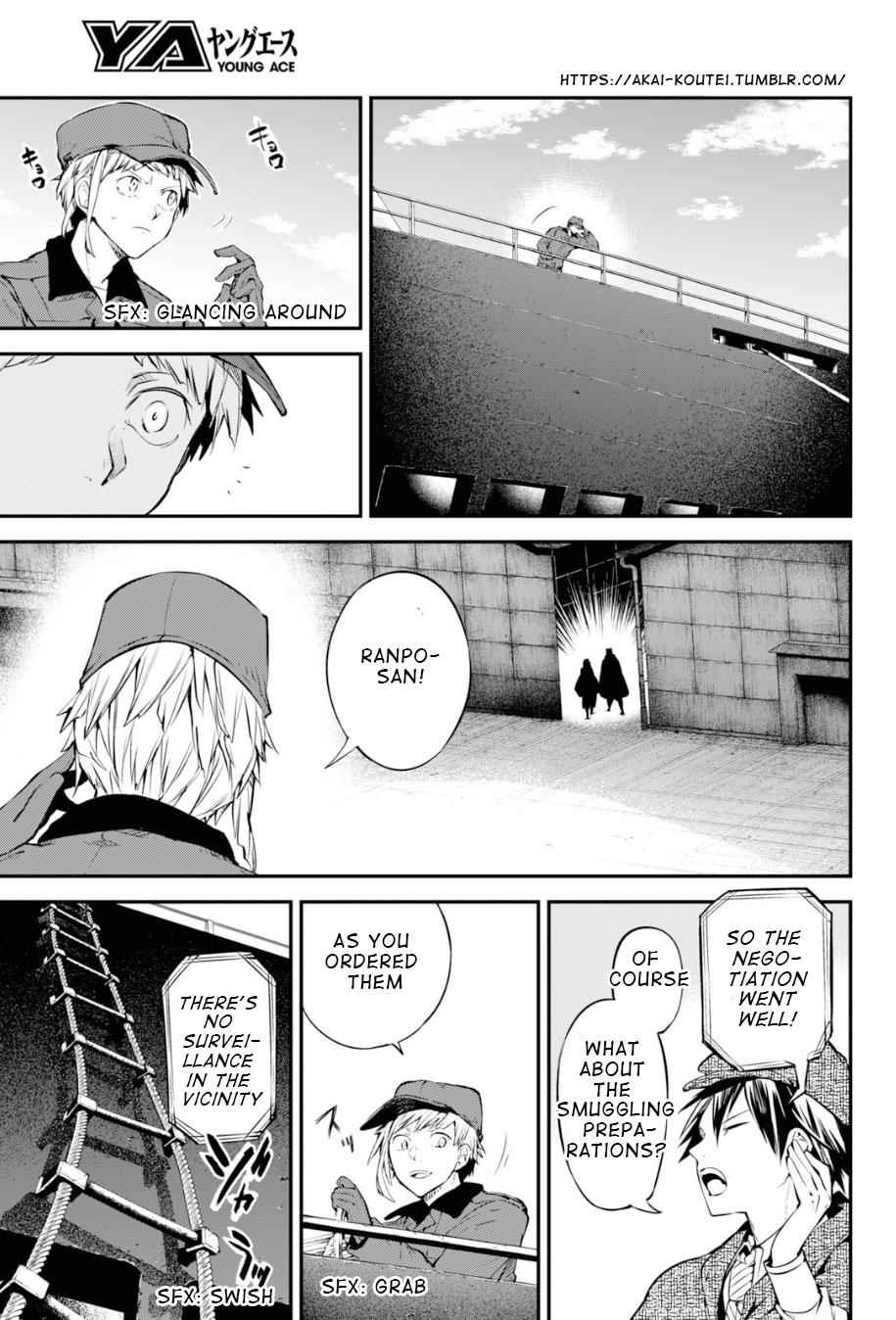 Bungou Stray Dogs Chapter 82 Page 28